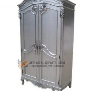 Almari silver Baroque